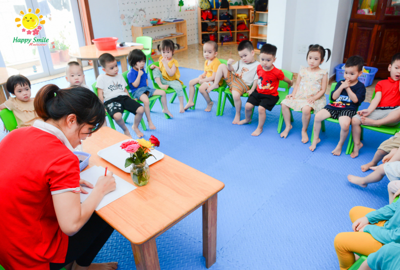 Trường mầm non Happy Smile - Montessori