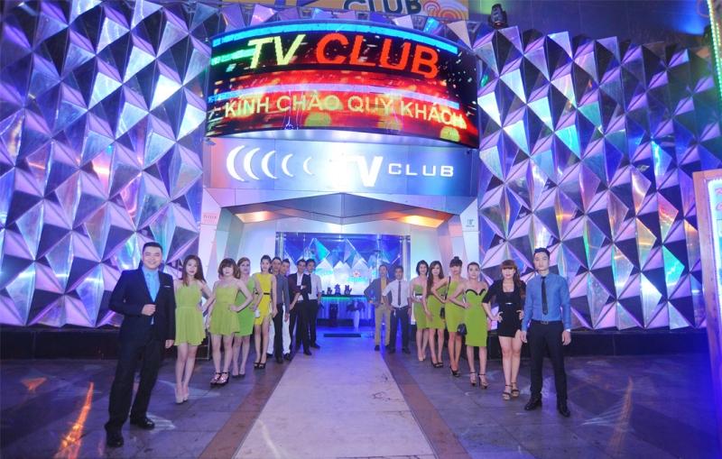 Thiết kế sang trọng, nổi bật của TV Club.