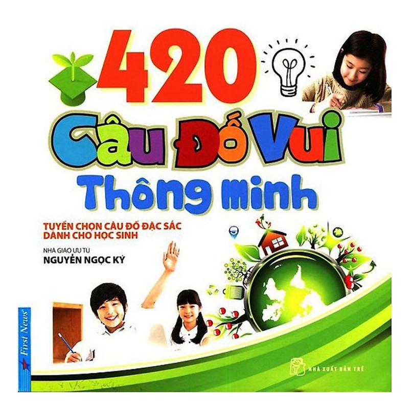 Sách 420 câu đố vui thông minh