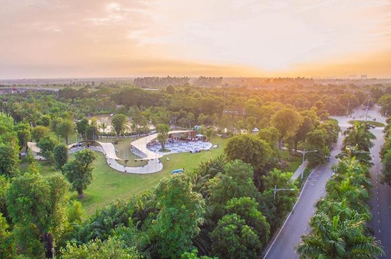 Ecopark - đi đầu trong việc tạo nên tiêu chuẩn sống mới cho con người