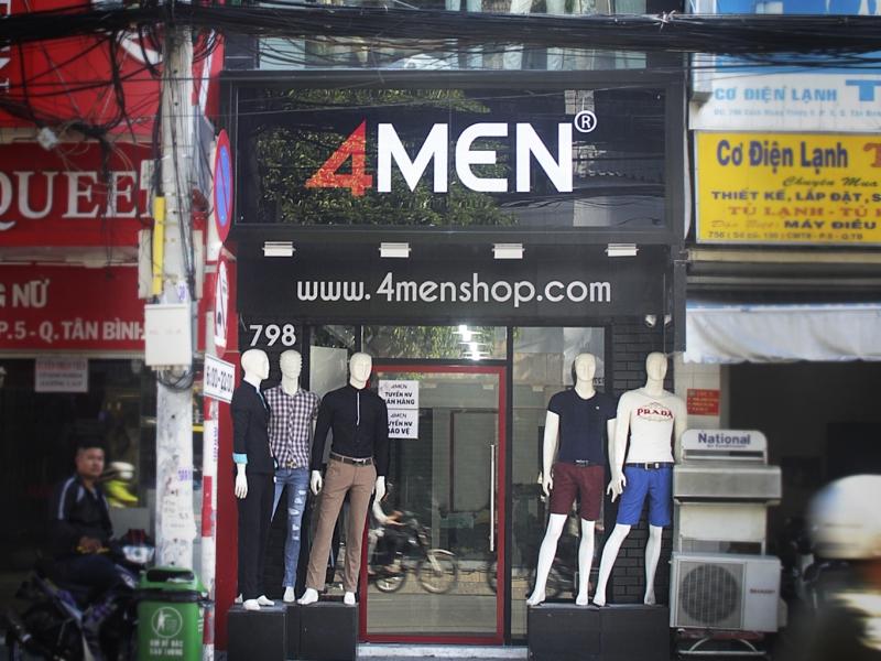 4men shop là một trong những thương hiệu thời trang nam tốt nhất tại TPHCM