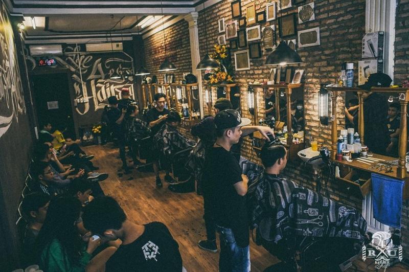 4RAU Barber Shop mang đậm phong cách hiphop