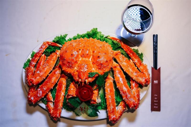 Top 6 địa chỉ ăn cua hoàng đế Đà Nẵng