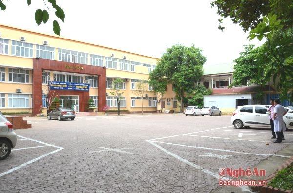 Khuôn Viên của Bệnh Viện đa khoa thành phố Vinh