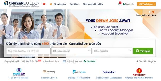 ( Careerbuilder.vn là một website tìm kiếm việc làm tuyệt vời dành cho bạn)