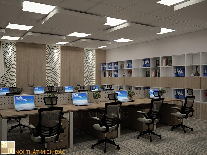 Một thiết kế văn phòng nổi bật của Nội Thất Miền Bắc