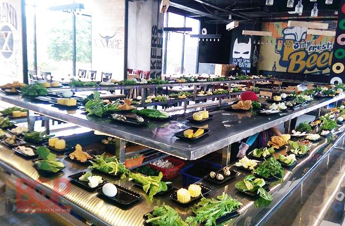 Top 6 nhà hàng buffet ngon nhất TP. Bắc Giang