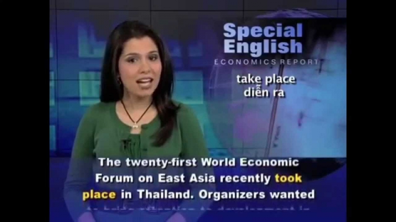 Giao diện trang web  VOA Special English