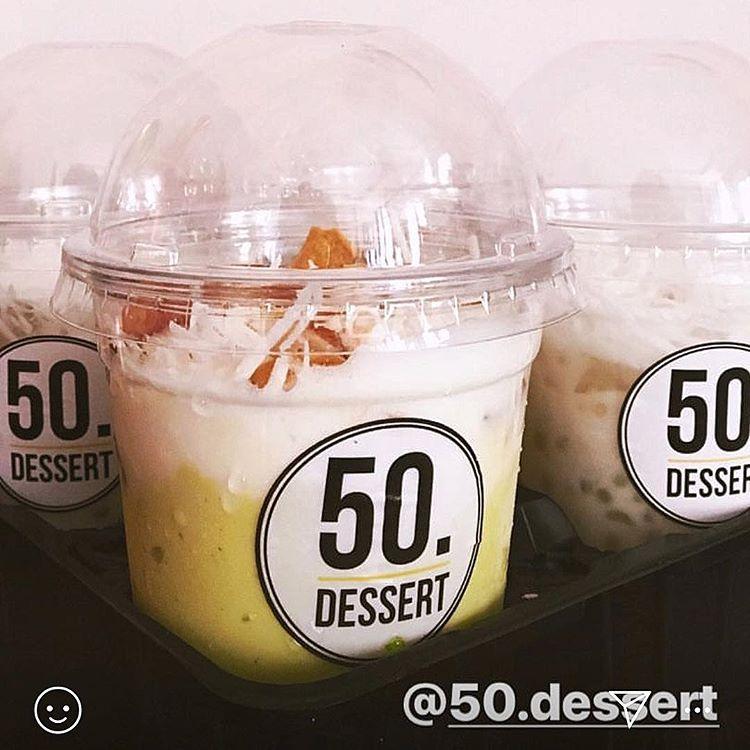 dừa dầm của quán 50 Dessert