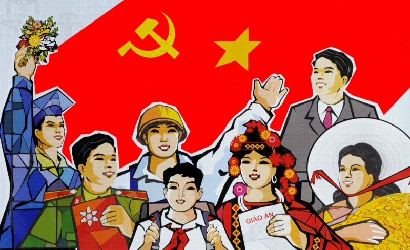 Tự hào đi theo ánh sáng của Đảng Cộng sản Việt Nam