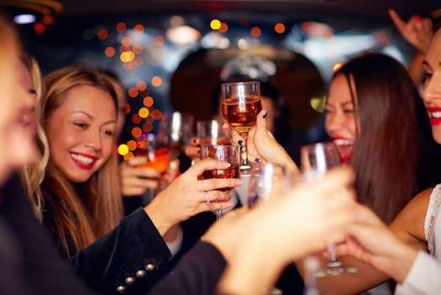 6. Uống rượu