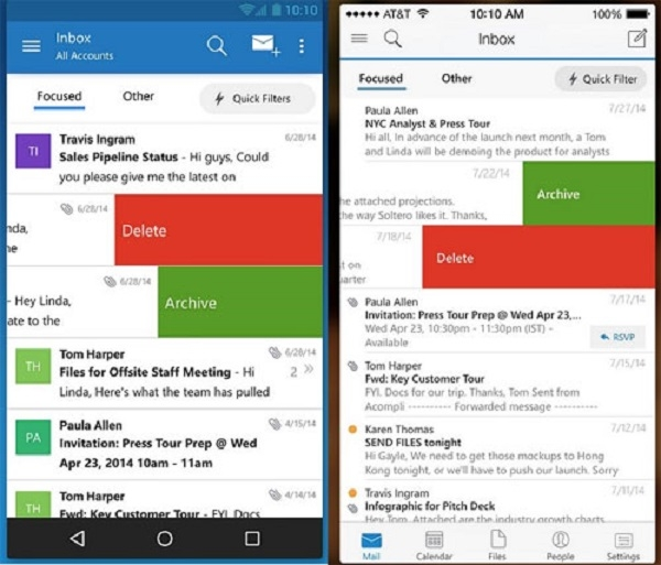 Microsoft Outlook – Ứng dụng email dành cho Microsoft