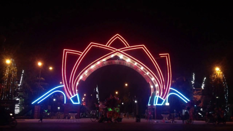 Công viên trung tâm thành phố Vinh