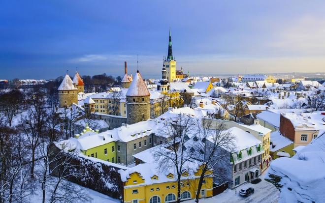 Tallinn, thủ đô Estonia được Unesco công nhận là di sản thế giới năm 1997