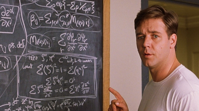 John Nash - nhân vật chính trong phim A Beautiful Mind