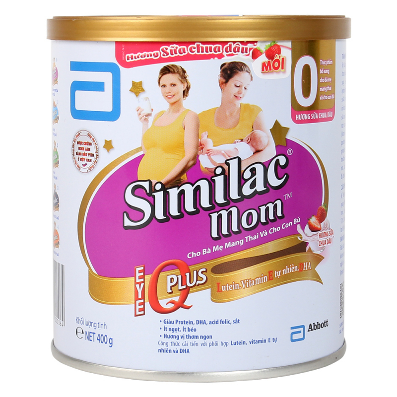 Sữa dành cho bà bầu Abbott Similac Mom IQ Hoa Kỳ