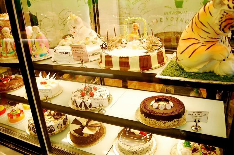 Bánh sinh nhật ở ABC Bakey rất đa dạng