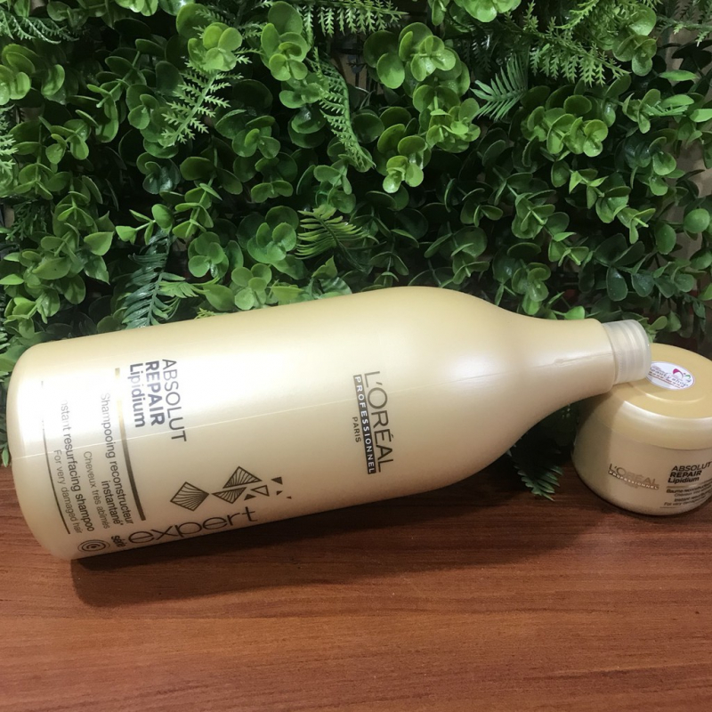 Dầu gội L' Oreal Absolut Repair Lipidium Shampoo