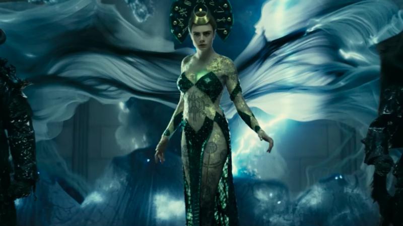Enchantress trong phim chỉ mới thể hiện một phần nhỏ sức mạnh