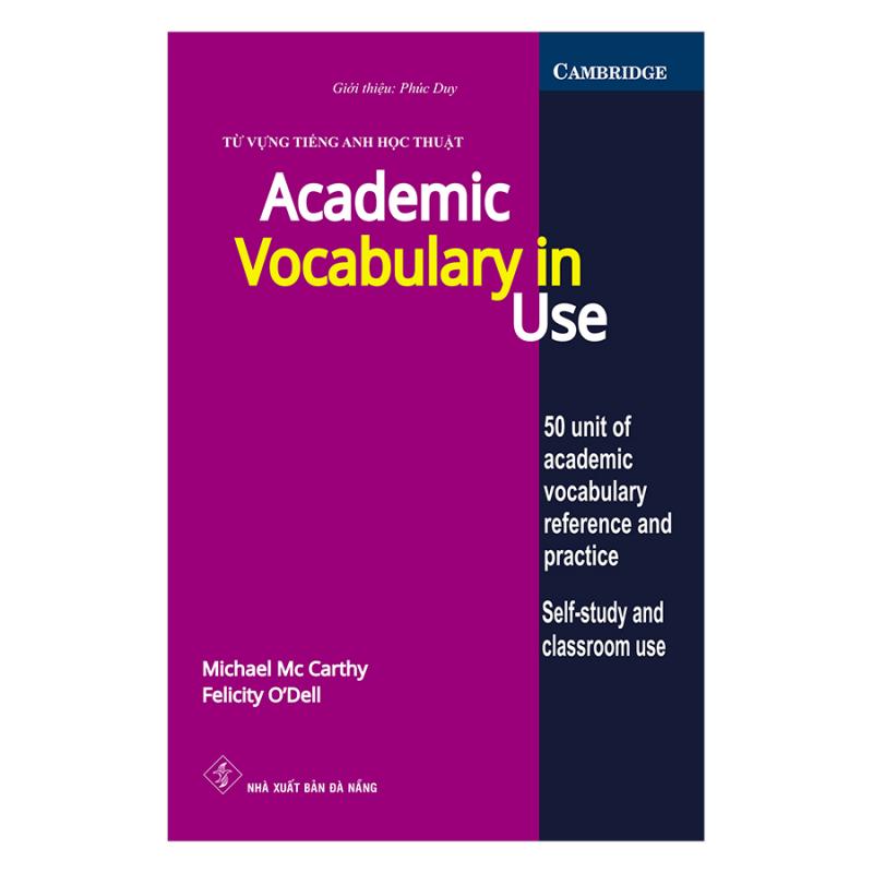 "Giáo trình ""Academic Vocabulary in use"""