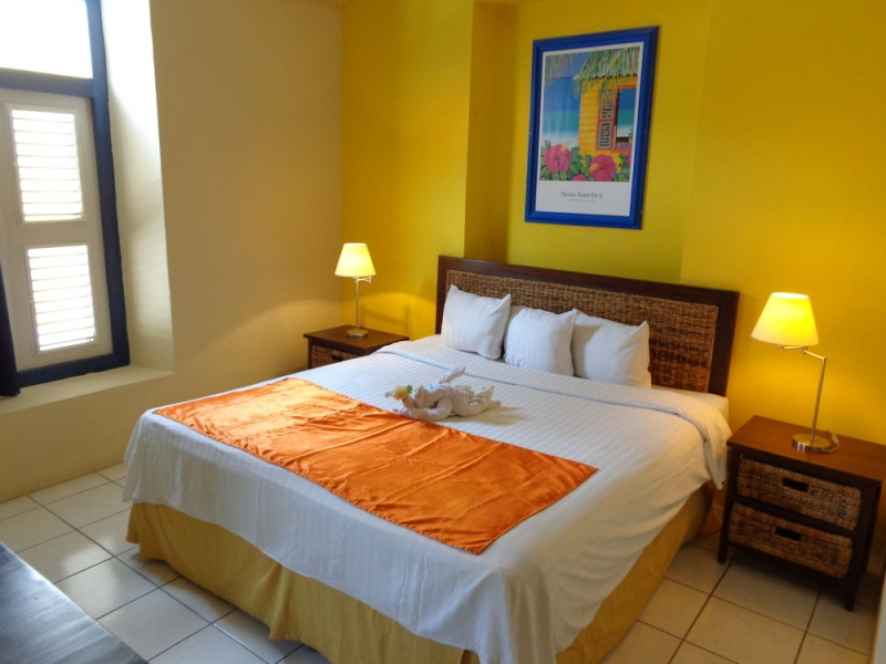 Phòng nghỉ tại Academy Hotel