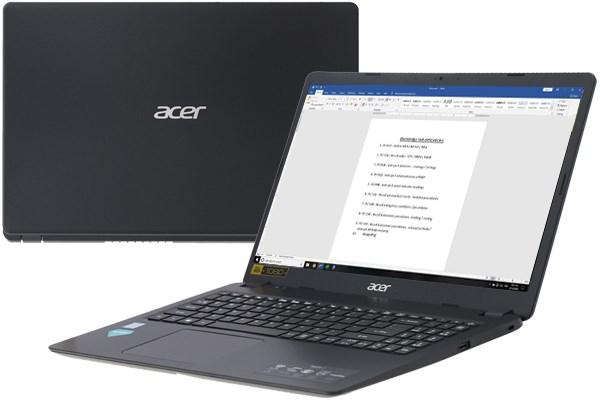 Acer có khối lượng máy nhẹ và mỏng