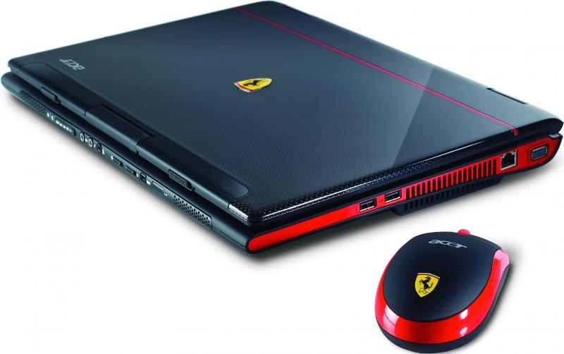 Acer Ferrari 1100 có giá 3.000 USD