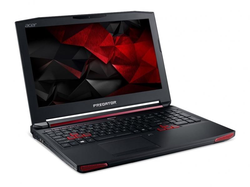 Acer Predator 15 có thiết kế hầm hố và đậm chất gaming