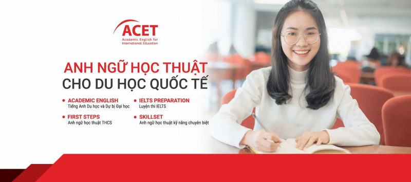 Với gần 20 năm kinh nghiệm trong lĩnh vực đào tạo tiếng Anh và luyện thi IELTS theo tiêu chuẩn Úc tại Việt Nam, ACET đã đào tạo nên nhiều lớp học viên có kiến thức vững chắc