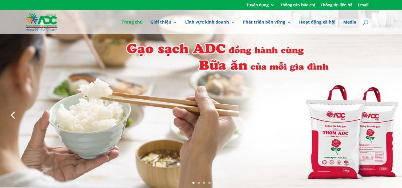 Website của ADC Group
