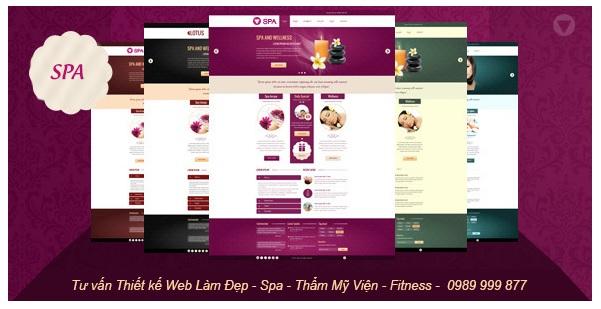 ADTIMIN sẽ mang đến website tươi mát, chuyên nghiệp cho dịch vụ Spa của bạn