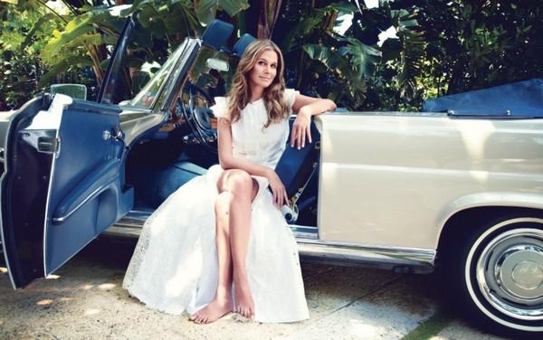 Fashion Designer Aerin Rebecca Lauder Zinterhofer.