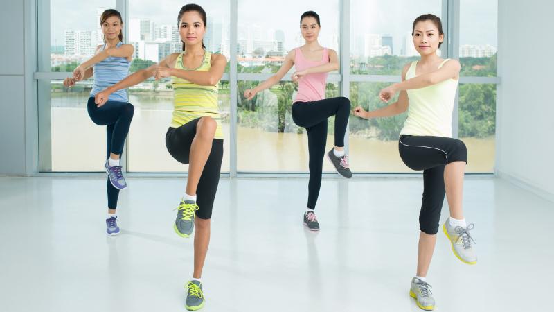 Các bài tập aerobic giúp giảm cân hiệu quả