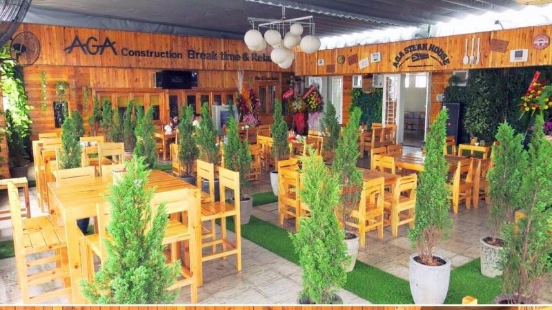 Không gian AGA Steakhouse