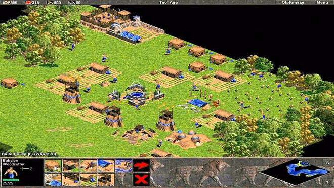 Tựa game Age of Empires