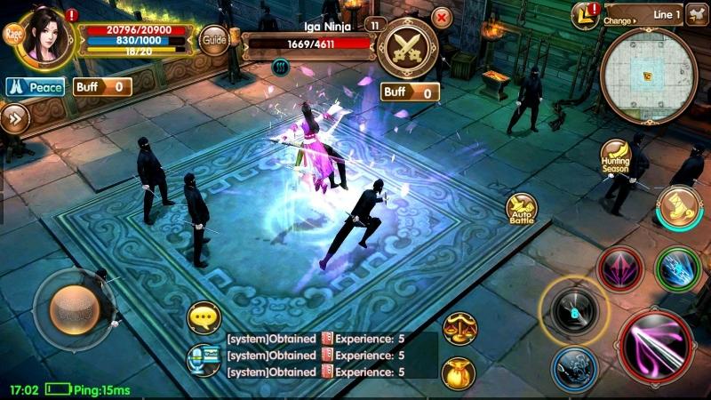 Người chơi phải đối mặt với nhiều đối thủ