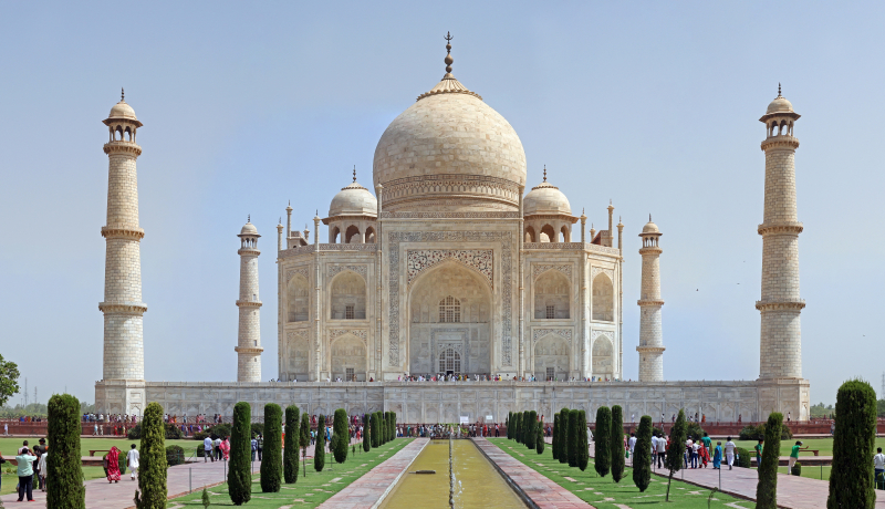 Đền Taj Mahal, Agra, Ấn Độ