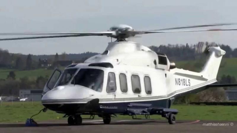 Trực thăng AgustaWestland AW139.