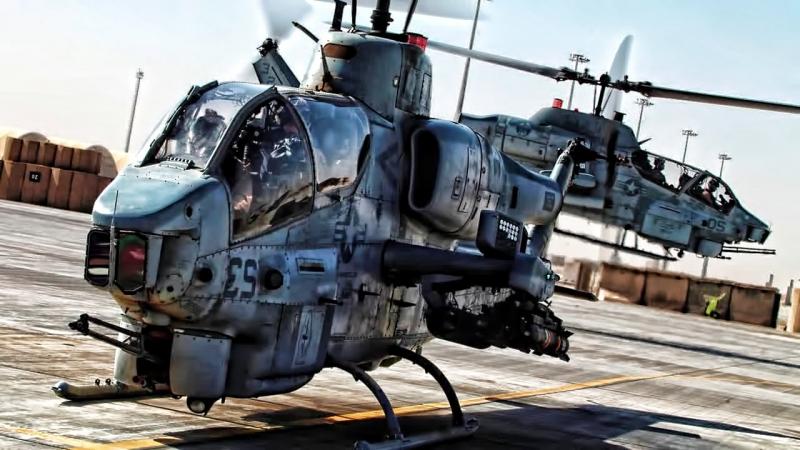 AH-1W Super Cobra của không quân Mỹ.