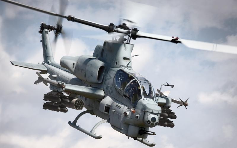 AH-1Z Viper là một trong những chiếc trực thăng hiện đại nhất thế giới.