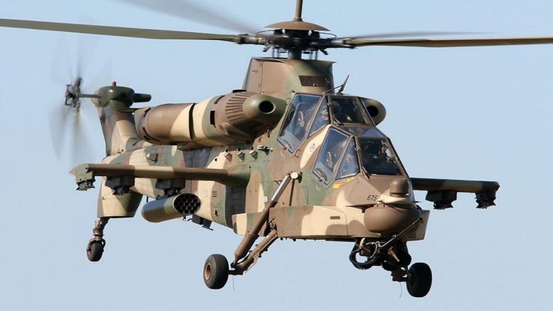 AH-2 Rooivalk là trực thăng hiện đại thứ tám thế giới.