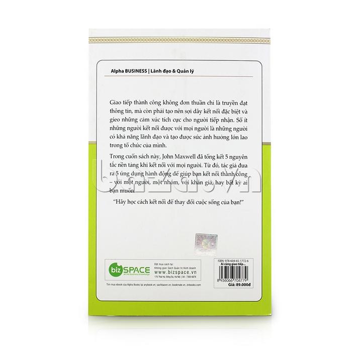 Mặt sau của cuốn sách