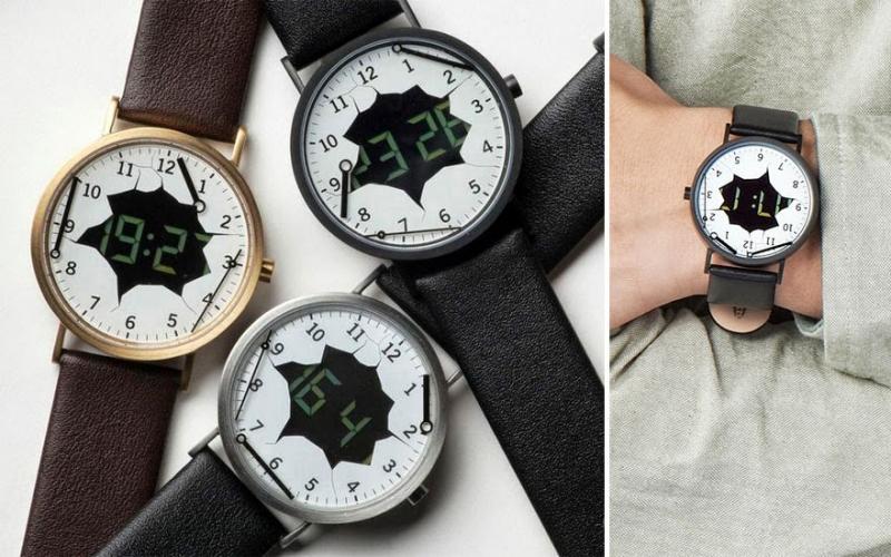Ai cũng ngạc nhiên khi nhìn thấy chiếc đồng hồ này của bạn. Đồng hồ