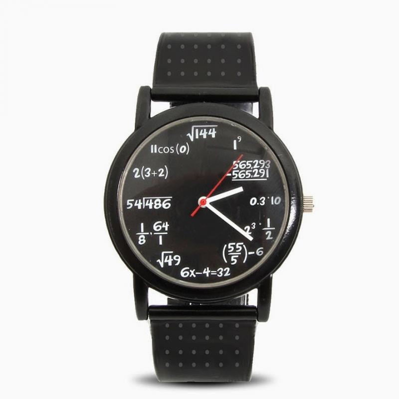 Ai mê toán học thì mau mua chiếc đồng hồ này nhé!