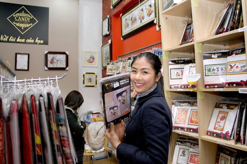 Aida Shop bán tranh thêu