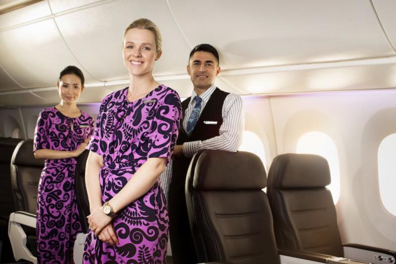 Tiếp viên Air New Zealand