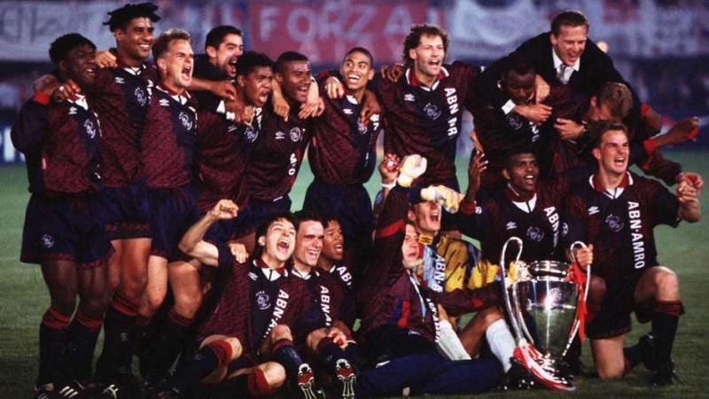 Đội hình trẻ trung vô địch năm 1995 của Ajax