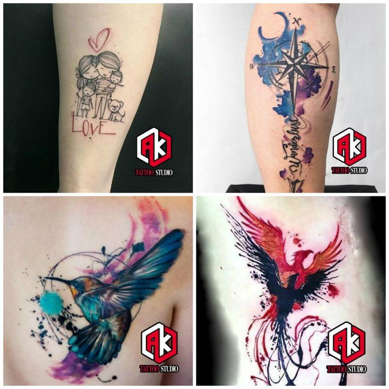 AK Tattoo Studio - Xăm Hình Nghệ Thuật
