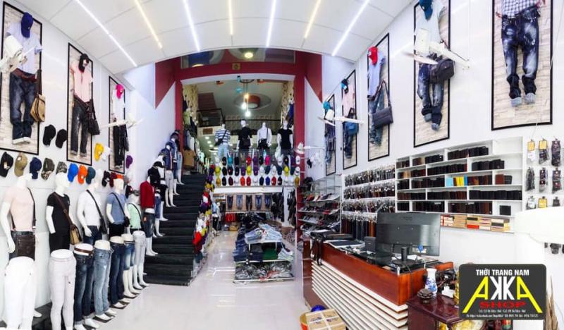 Không gian mua sắm của Akka shop.