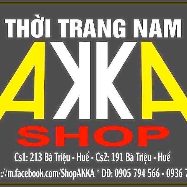 Akka shop có hai cửa hàng tại Huế.